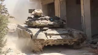 T-90 in Aleppo