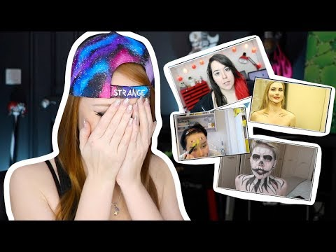 Xxx Mp4 I REACT TO PEOPLE TRYING MY MAKEUP TUTORIALS 3gp Sex