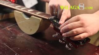 Cómo cambiar Cuerdas Guitarra Eléctrica tipo Gibson - Tutorial Español
