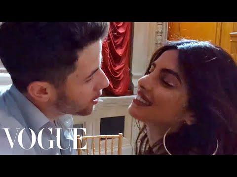 "Xxx Mp4 Priyanka Chopra Dances To Nick Jonas's Song ""Close"" Vogue 3gp Sex"