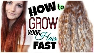 NEW HAIR + How to Grow Your Hair Long & Fast! | HauteBrilliance