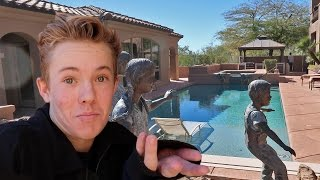 KICKED OUT OF MANSION PARTY!