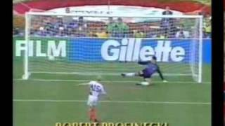 Italy 1990 - Quarter Finals - Argentina 0 - 0 Yugoslavia (3 - 2 pens)