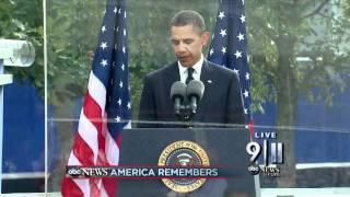 President Obama Reads Psalm 46 at 9/11 Ceremony