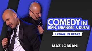 """Comedy in Iran, Lebanon and Dubai"" 