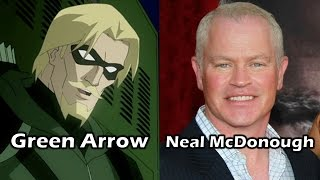 Characters and Voice Actors - DC Showcase: Green Arrow