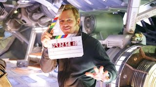 Chris Pratt Shares Behind-the-Scenes Look At Guardians of the Galaxy 2