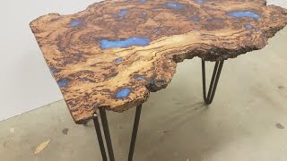 How to make an Epoxy Coffee Table