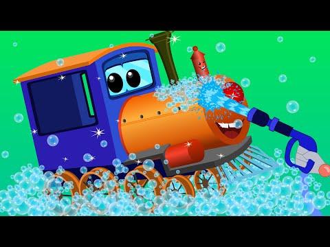 Xxx Mp4 Train Car Wash Car Cartoons For Children Kids Video 3gp Sex