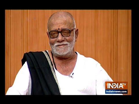 Xxx Mp4 Morari Bapu In Aap Ki Adalat Spiritual Leader Responds To Questions On Ram Mandir Hanuman S Caste 3gp Sex