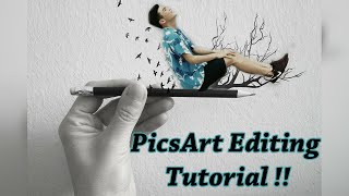 Amazing photo editing tutorial! - PicsArt 2016 ʕ•ᴥ•ʔ