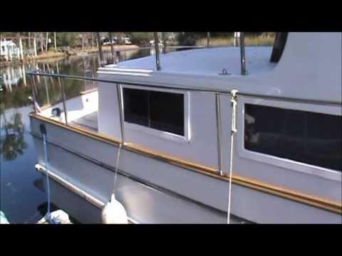 1981 44 Marine Trader Classic Trawler