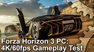 Let's Play Forza Horizon 3 PC: 4K 60fps Gameplay!