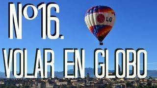 Nº16 Viajar en globo