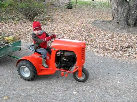 1956 Bantam garden tractor Model 5000