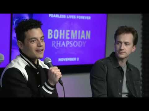 We re Live With the Cast of Bohemian Rhapsody
