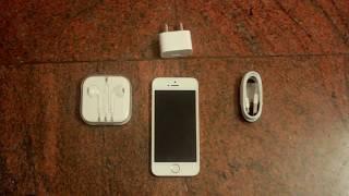 iPhone SE - Unboxing India (Rose Gold,iOS 10.3.2)