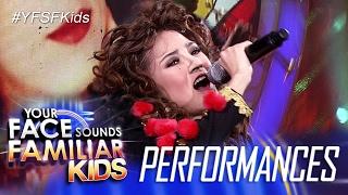 Your Face Sounds Familiar Kids: AC Bonifacio as Gloria Estefan - Get On Your Feet