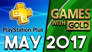PlayStation Plus VS Xbox Games With Gold (May 2017)