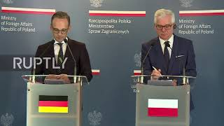Poland: German FM Maas honours Nazi victims after visiting Auschwitz