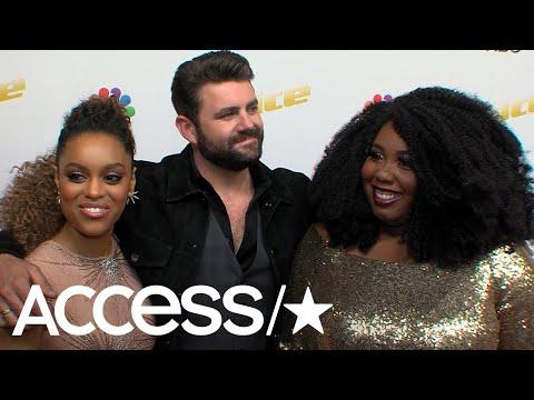 'The Voice': Spensha Baker, Pryor Baird & Kyla Jade On The 'Family' On Team Blake | Access