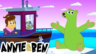 The Green Polar Bear | Cartoons for Kids by The Adventures of Annie and Ben!