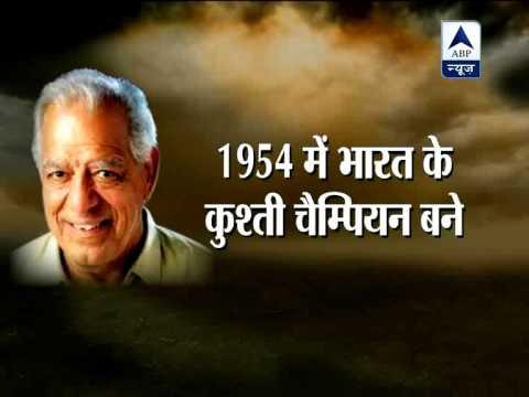 Dara Singh, a legend and original 'Indian Super Hero'