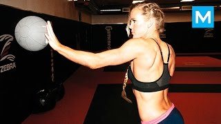 Holly Holm Training for Next Fight | Muscle Madness