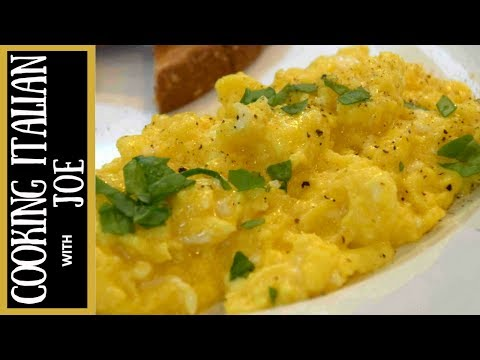 How to Make World's Best Scrambled Eggs Cooking Italian with Joe