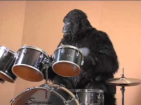 Animatronic Gorilla Drum Player.m4v