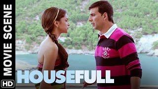 Akshay wants to jump from the balcony | Housefull | Movie Scene