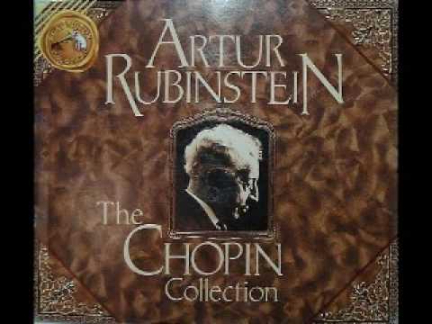 Arthur Rubinstein - Chopin Waltz Op. 64 No. 2 in C Sharp Minor