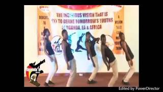 ZION DANCERS UGANDA.Dancehall mash up.
