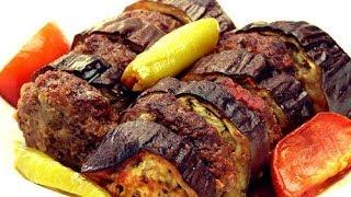 Fırında Patlıcan Kebabı Tarifi | Patlıcanlı Köfte