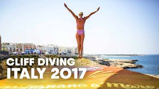 The Best Dives off a Balcony | Red Bull Cliff Diving Italy 2017 - Women Finals