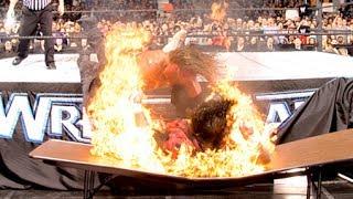 OS 100 MOMENTOS MAIS EXTREMOS DA HISTÓRIA DA WWE - WWE TOP 10