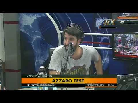 Valeria Degenaro en AzzaroAlHorno con Flavio Azzaro
