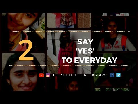 Day 2 - Say YES to every day and every opportunity| #Instagram Live|Think like a Rockstar|#Becoming