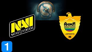Navi vs Cyber Anji Game 1 The International 2017 Highlights Dota 2