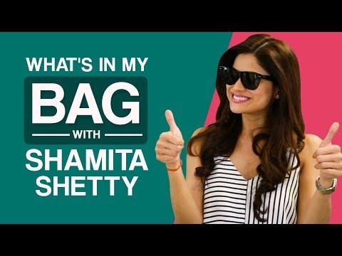 What's in my bag with Shamita Shetty | Pinkvilla | S01E01 | Bollywood | Lifestyle