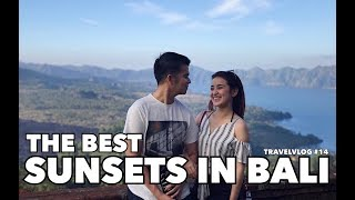 THE BEST SUNSETS IN BALI ( BALI TRIP ) #TRAVELVLOG #14
