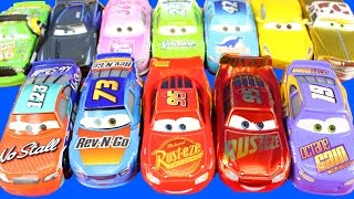 Disney Cars 3 Fireball Beach Race 4 pack And Lightning McQueen Desert Race 11 Pack