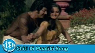 Chitiki Maatiki Chitammante Song - Siripuram Monagadu Movie Song - Krishna - Jayaprada