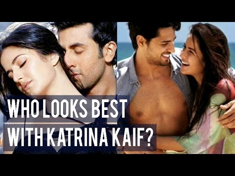 Who looks best with Katrina Kaif?