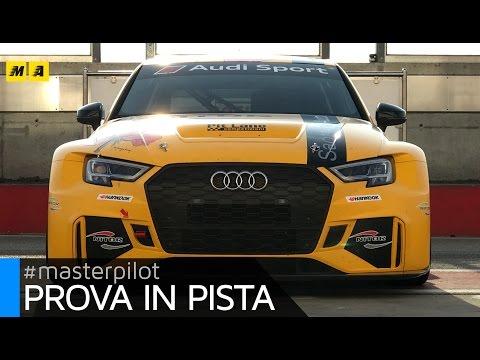 Audi RS3 LMS la sedan cattiva per i campionati TCR Test drive