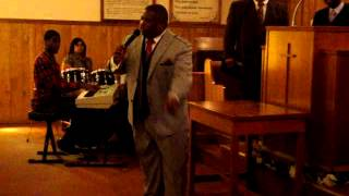 nmoc pastor w.r shorts preaching in mississippi