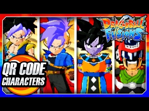 Dragon Ball Fusions 3DS English: All Secret QR Code Characters!