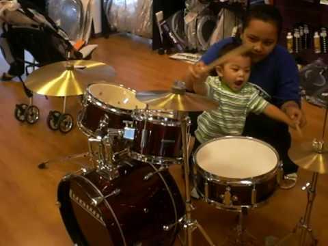 Zulkarnain with drums