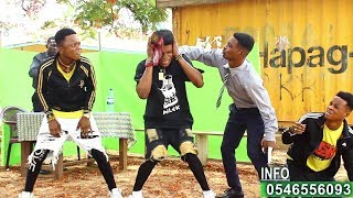 Nii funny ft Bra Links Pastor crativity,comedy dance video by YKD yewo kro dancers