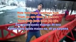 Ishq Wala Love Karaokeaudacity